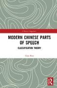 Cover-Bild zu Modern Chinese Parts of Speech (eBook)