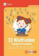 Cover-Bild zu 33 Methoden Rechenschwäche von Becker-Volke, Julia