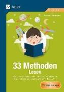 Cover-Bild zu 33 Methoden Lesen von Pohlmann, Stefanie