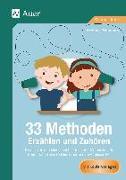 Cover-Bild zu 33 Methoden Erzählen und Zuhören von Pohlmann, Stefanie