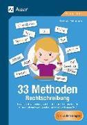 Cover-Bild zu 33 Methoden Rechtschreibung von Pohlmann, Stefanie