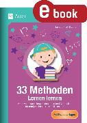 Cover-Bild zu 33 Methoden Lernen lernen (eBook) von Kroll-Gabriel, Sandra