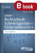 Cover-Bild zu Lese-Rechtschreib-Schwierigkeiten Fördermaterial 2 (eBook) von Kroll-Gabriel, Sandra