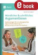 Cover-Bild zu Mündliches & Schriftliches Argumentieren (eBook) von Kroll-Gabriel, Sandra