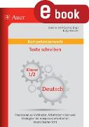 Cover-Bild zu Kompetenzerwerb Texte schreiben 1/2 (eBook) von Kroll-Gabriel, Sandra