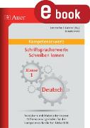 Cover-Bild zu Kompetenz Schriftspracherwerb Schreiben lernen (eBook) von Danz, Renate
