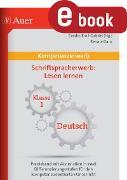 Cover-Bild zu Kompetenz Schriftspracherwerb Lesen lernen (eBook) von Danz, Renate