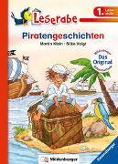 Cover-Bild zu Piratengeschichten - Leserabe 1. Klasse - Erstlesebuch für Kinder ab 6 Jahren von Klein, Martin