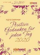 Cover-Bild zu Positive Gedanken für jeden Tag 2020 Tagesabreißkalender