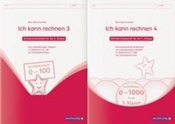 Cover-Bild zu Ich kann rechnen 3&4 - 2 Schülerarbeitshefte für die 3. Klasse von Langhans, Katrin