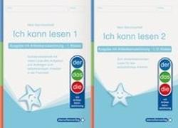 Cover-Bild zu Ich kann lesen 1 und 2 - Ausgabe mit Artikelkennzeichnung für die 1. und 2. Klasse von Langhans, Katrin