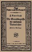 Cover-Bild zu Die Grundbegriffe der modernen Naturlehre (eBook) von Auerbach, Felix