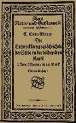 Cover-Bild zu Die Entwicklungsgeschichte der Stile in der bildenden Kunst (eBook) von Cohn-Wiener, Ernst