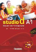 Cover-Bild zu Studio d, Deutsch als Fremdsprache, Grundstufe, A1: Gesamtband, Video-DVD mit Übungsbooklet