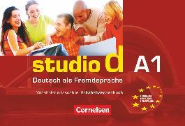 Cover-Bild zu Studio d, Deutsch als Fremdsprache, Grundstufe, A1: Gesamtband, Vokabeltaschenbuch Deutsch-Italienisch