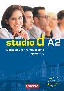 Cover-Bild zu Studio d, Deutsch als Fremdsprache, Grundstufe, A2: Gesamtband, Sprachtraining von von Eggeling, Rita Maria