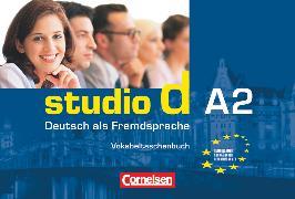 Cover-Bild zu Studio d, Deutsch als Fremdsprache, Grundstufe, A2: Gesamtband, Vokabeltaschenbuch einsprachig