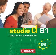Cover-Bild zu Studio d, Deutsch als Fremdsprache, Grundstufe, B1: Gesamtband, Audio-CDs
