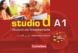 Cover-Bild zu Studio d, Deutsch als Fremdsprache, Grundstufe, A1: Gesamtband, Vokabeltaschenbuch Deutsch-Arabisch