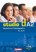 """Cover-Bild zu Studio d, Deutsch als Fremdsprache, Grundstufe, A2: Gesamtband, Testheft A2 mit Modelltest """"Start Deutsch 2"""", Mit Audio-CD von Pasemann, Nelli"""