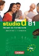 Cover-Bild zu Studio d, Deutsch als Fremdsprache, Grundstufe, B1: Gesamtband, Video-DVD mit Übungsbooklet von Demme, Silke