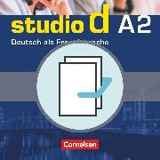 Cover-Bild zu Studio d, Deutsch als Fremdsprache, Grundstufe, A2: Gesamtband, Kurs- und Übungsbuch mit Lerner-CD und Sprachtraining, 20712-3 und 20714-7 im Paket