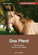 Cover-Bild zu Das Pferd - Kopiervorlagen für die 2. bis 4. Klasse von Kaiser, Christine M.