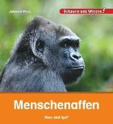 Cover-Bild zu Menschenaffen von Prinz, Johanna