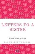 Cover-Bild zu Letters to a Sister von Macaulay, Rose
