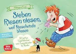 Cover-Bild zu Sieben Riesen niesen, weil Nieselwinde bliesen von Kunz, Hildegard
