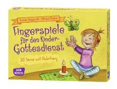 Cover-Bild zu Fingerspiele für den Kindergottesdienst von Menke, Ulrike