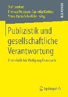 Cover-Bild zu Publizistik und gesellschaftliche Verantwortung von Jandura, Olaf (Hrsg.)