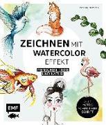 Cover-Bild zu Zeichnen mit Watercolor-Effekt von Konte, Katharina