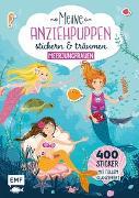 Cover-Bild zu Meine Anziehpuppen - stickern & träumen: Meerjungfrauen von Liepins, Carolin (Illustr.)