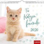 Cover-Bild zu Für Katzenfreunde 2020: Dekorativer Wandkalender mit Monatskalendarium