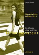 Cover-Bild zu Rechnungswesen 1. Einführung klipp und klar. Lösungen von De Taddéo, Jacques