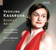 Cover-Bild zu Russische Arien von Kasarova, Vesselina
