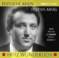 Cover-Bild zu Festliche Arien von Wunderlich, Fritz (Solist)