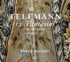 Cover-Bild zu 12 Fantasien für Solovioline von Telemann, Georg Philipp (Komponist)