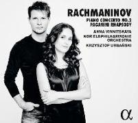 Cover-Bild zu Klavierkonzert Nr. 2 / Paganini Rhapsodie von Vinnitskaya, Anna