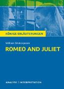 Cover-Bild zu Romeo and Juliet - Romeo und Julia von Wiliam Shakespeare von Shakespeare, William