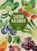 Cover-Bild zu Saisonkalender - Obst & Gemüse - Graspapier-Kalender 2020