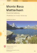 Cover-Bild zu Monte Rosa - Matterhorn. 1:50'000