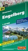 Cover-Bild zu Engelberg Wanderkarte Nr. 25, 1:50 000. 1:50'000 von Hallwag Kümmerly+Frey AG (Hrsg.)