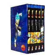 Cover-Bild zu Dragon Ball Super Bände 1-5 im Sammelschuber mit Extra von Akira Toriyama (Original Story)