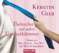 Cover-Bild zu Gier, Kerstin: Ehebrecher und andere Unschuldslämmer