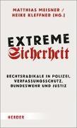 Cover-Bild zu Meisner, Matthias (Hrsg.): Extreme Sicherheit