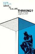 Cover-Bild zu Heidegger, Martin: What Is Called Thinking?