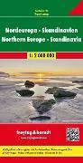 Cover-Bild zu Nordeuropa - Skandinavien, Autokarte 1:2 Mio. 1:2'000'000 von Freytag-Berndt und Artaria KG (Hrsg.)