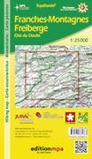 Cover-Bild zu Franches-Montagnes / Freiberge. 1:25'000